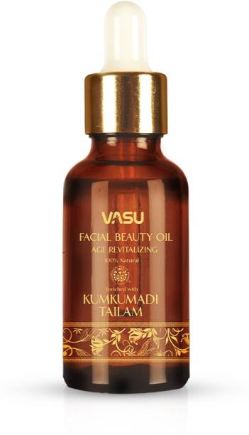 VASU Facial Beauty Oil – With Kumkumadi Tailam