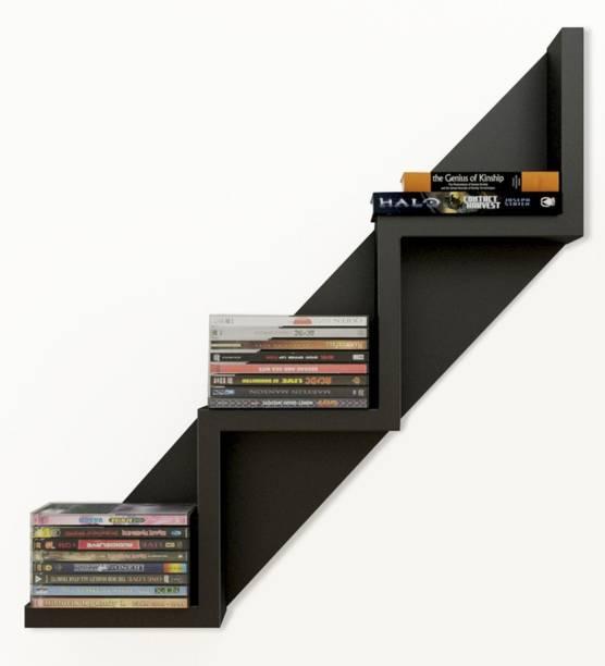 House Of Sensation Solid Wood Open Book Shelf