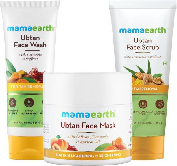 MamaEarth ultimate ubtan de-tan kit