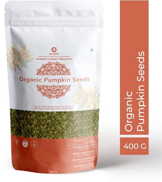Anveshan USDA Certified Organic Pumpkin Seed (Omega-3 Rich   High Fibre)