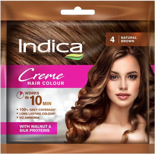 Indica 10 Minutes Creme , Natural Brown 4
