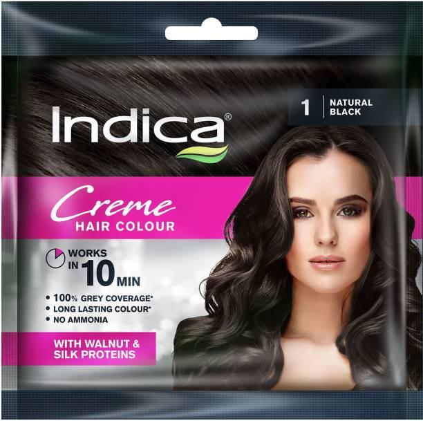 Indica 10 Minutes Creme , Natural Black 1