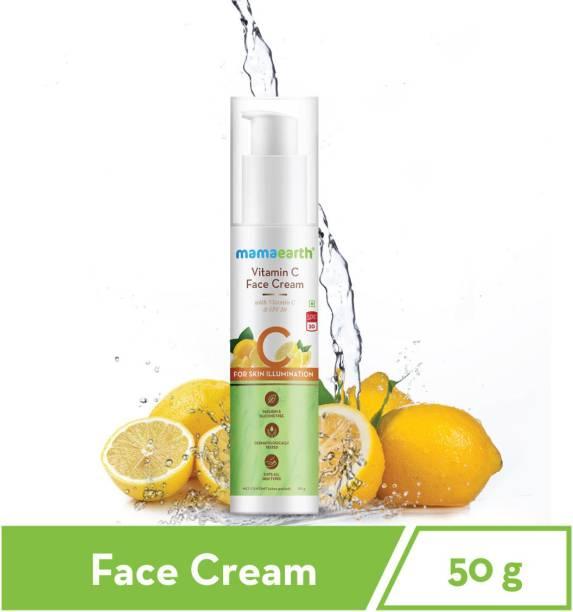 "MamaEarth ""Vitamin C Cream For Face, with Vitamin C & SPF 20, for Skin Illumination – 50g """