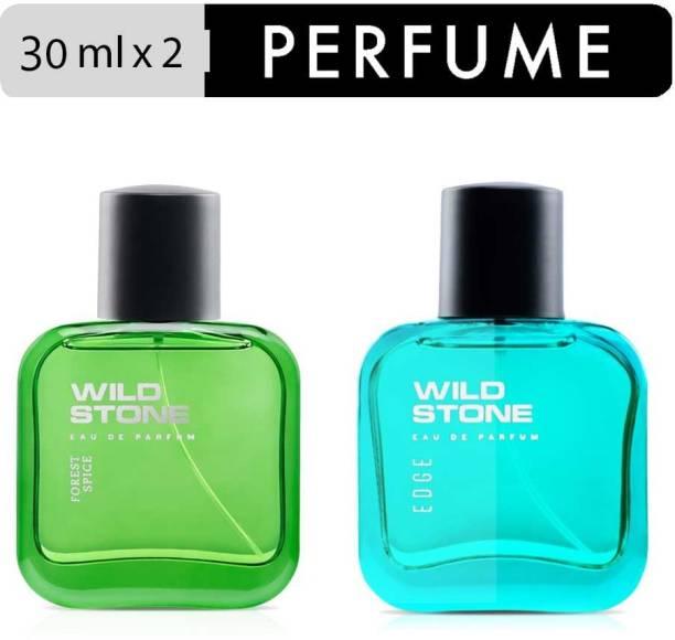 Wild Stone Edge and Forest Spice Perfume Combo for Men Eau de Parfum  -  60 ml