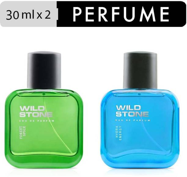 Wild Stone Forest Spice and Hydra Energy Perfume Combo for Men Eau de Parfum  -  60 ml