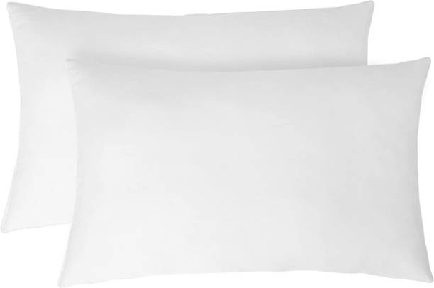 Portico New York Polyester Fibre Solid Sleeping Pillow Pack of 2