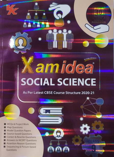 Xam Idea Social Science For Class-9 As Per The Latest CBSE Syllabus For ( 2020-2021) Examination