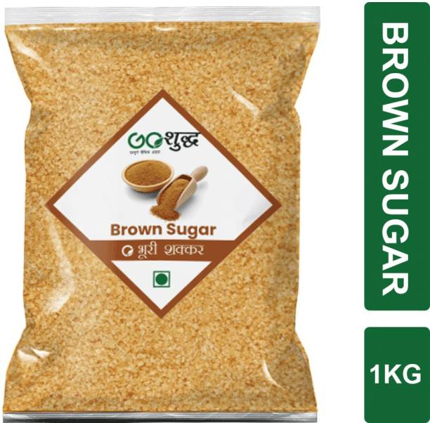 Goshudh Premium Quality Brown Sugar 1kg Sugar