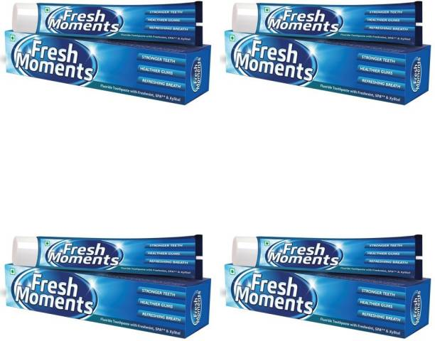 fresh moments Toothpaste (4*100g) Toothpaste