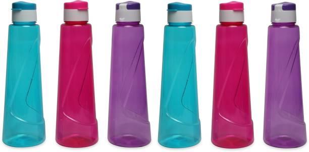 Tuelip Plastic Combo Water Bottle for School Kids Girls & Boys,College,Gym 900 ml Water Bottles