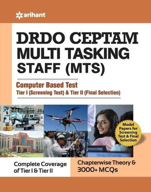 Drdo Ceptam Multi Tasking Staff (Mts) Exam Guide Tier I and Tier II 2020