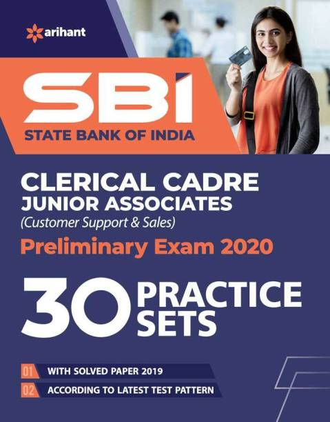 Sbi 30 Practice Sets Clerical Cadre Junior Associates Preliminary Examination 2020