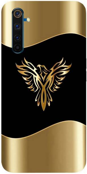 Raydenhy Back Cover for Realme 6 Pro Printed Phoenix Ice Symbol, Bird, Gid