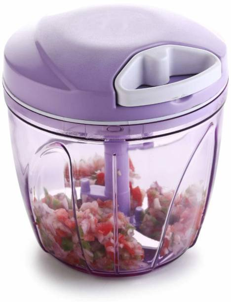 Kreyam's Vegetable Chopper Cutter Purple 750ml for kitchen Vegetable Chopper