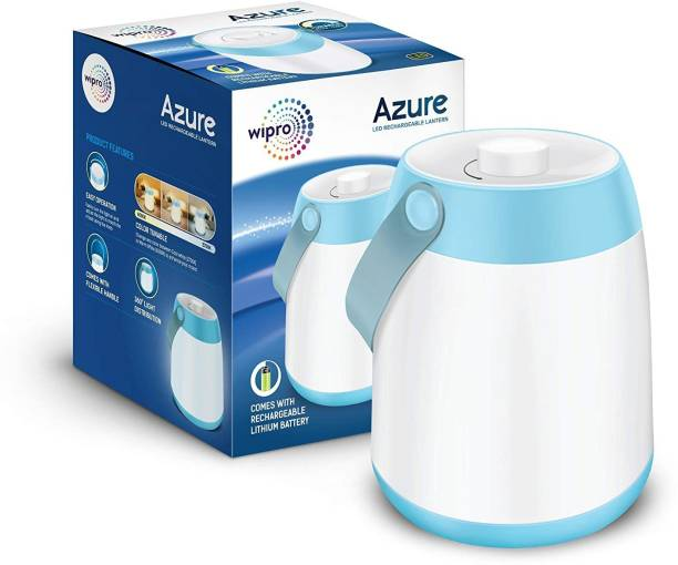 WIPRO Azure LED Rechargeable Lantern Lantern Emergency Light