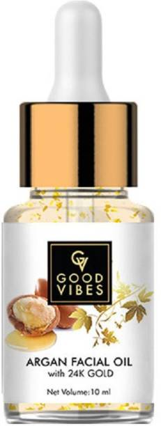 GOOD VIBES Argan Facial Oil with 24K Gold