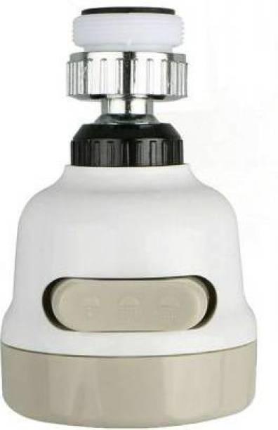 HARISWARUP 360 Degree Rotating Water-Saving Sprinkler, Faucet Aerator, 3-Gear Adjustable Head Nozzle Splash-Proof Filter Extender Sprayer for Kitchen, Bathroom,Sink Shower Head
