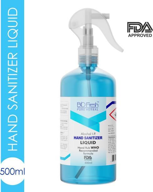 Biofresh FDA APPROVED  Liquid Spray Sanitizer Spray Bottle + Refill