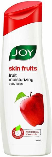 Joy Skin Fruits Fruit Moisturizing Body Lotion with Jojoba & Almond Oils, For All Skin Type
