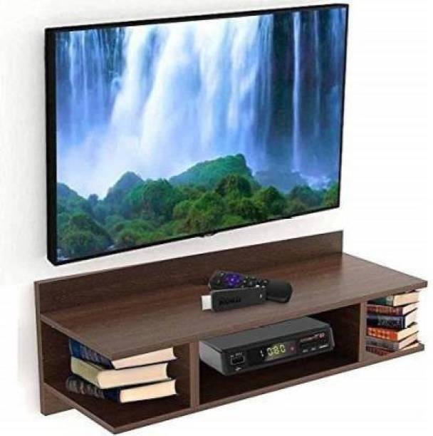 webshoppee Tv Setup Box & Remote Stand MDF (Medium Density Fiber) Wall Shelf
