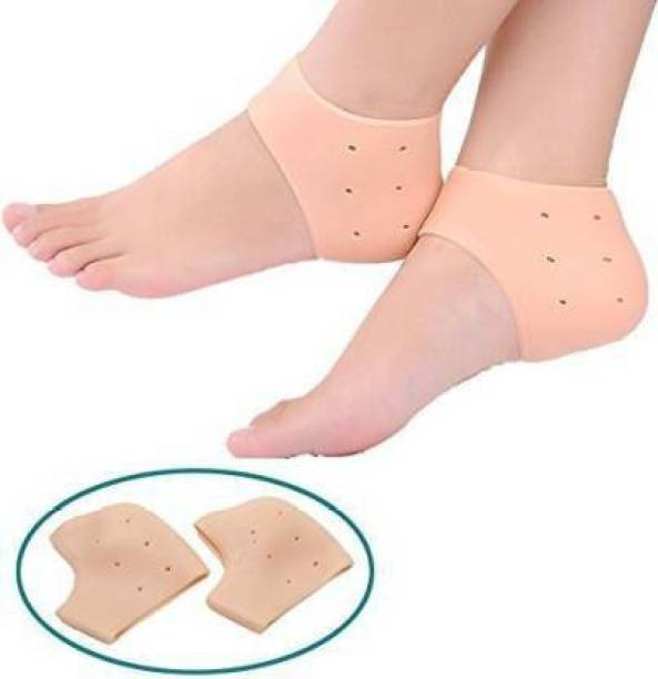 guru om Gel Heel Socks for Heal Dry Cracked Heels Heel Support Foot Support Heel Support