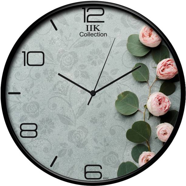 IIK Collection Analog 18 cm X 16 cm Wall Clock