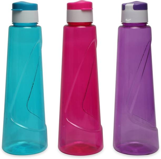 Tuelip Plastic Combo Water Bottle for School Kids Girls & Boys,College,Gym,Sports 900 ml Water Bottles