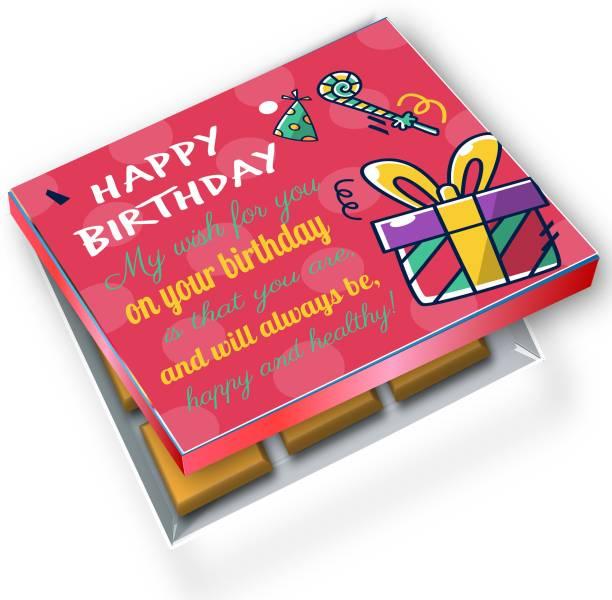 redbakers.in Happy BIrthday RedGift 12Chocolate Gift Box Truffles