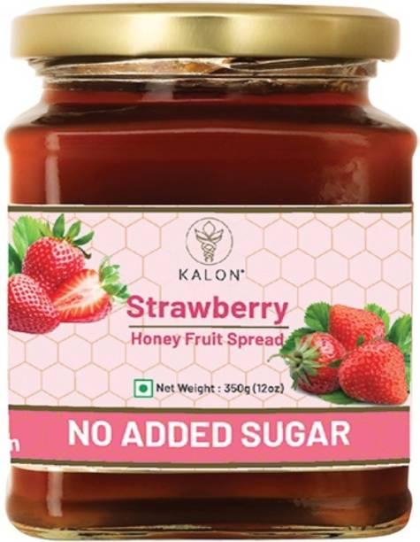 Kalon Strawberry Honey Fruit Spread - 350G - Pack of 1 350 g
