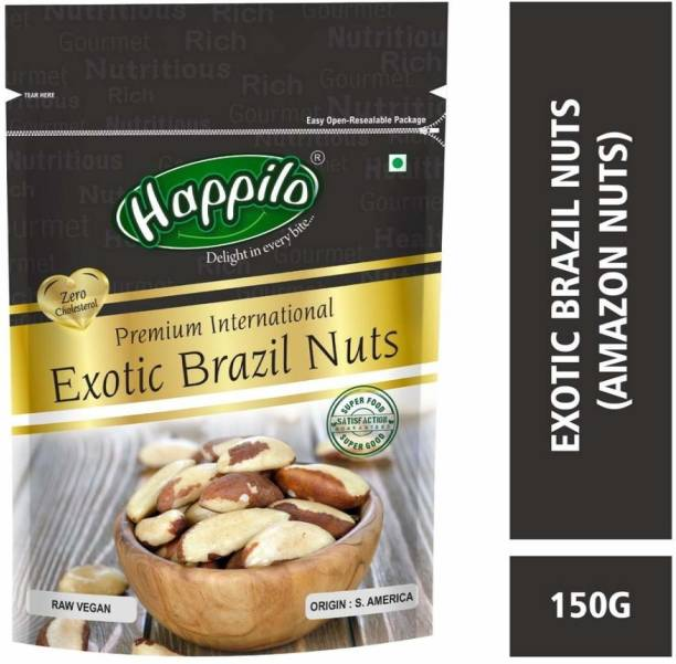 Happilo Premium International Exotic Brazil Nuts Brazil Nuts