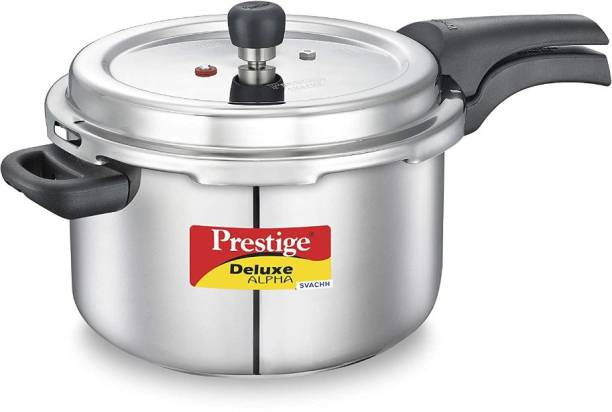 Prestige Deluxe Alpha Svachh 6.5 L Induction Bottom Pressure Cooker