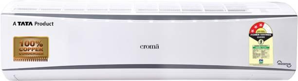 Croma 2 Ton 3 Star Split Inverter AC  - White