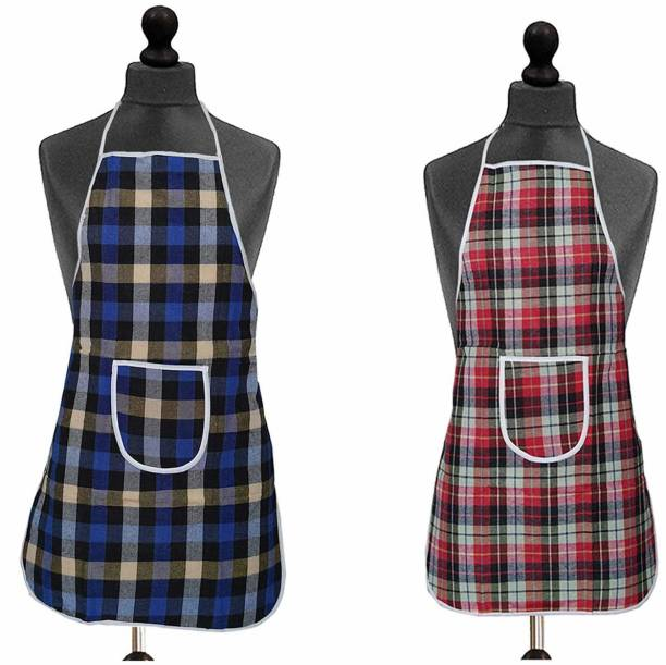 Innovegic Cotton Home Use Apron - Free Size