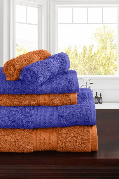 TRIDENT Cotton 460 GSM Bath Towel Set