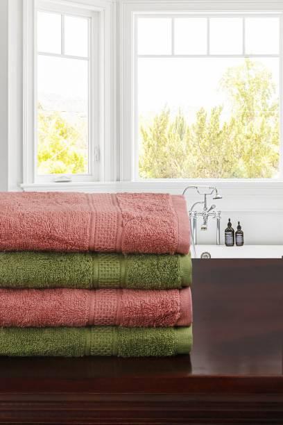 TRIDENT Cotton 460 GSM Hand Towel Set