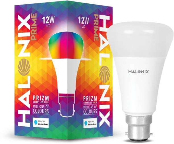 HALONIX 12 W Round B22 Decorative Bulb
