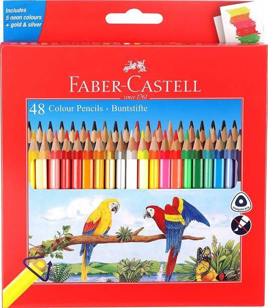 FABER-CASTELL Buntstifte Triangular Shaped Color Pencils