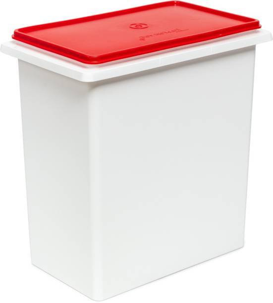 TUPPERWARE Bulk Storage Container Rice Keeper  - 10 L Plastic Cereal Dispenser