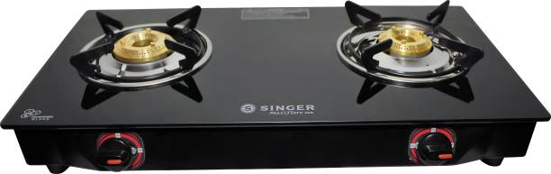 Singer SGS02GTNM Glass Manual Gas Stove