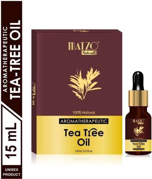 Matzo Natural Aromatherapeutic Australian Tea Tree Essential Oil (For Hair and Skin Care) Hair Oil