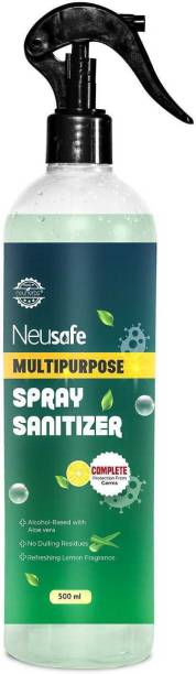 Neusafe Multipurpose Spray Sanitizer-Safe on all Surfaces Sanitizer Spray Bottle