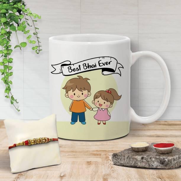 Flipkart SmartBuy Chawal Roli Pack, Rakhi, Mug  Set