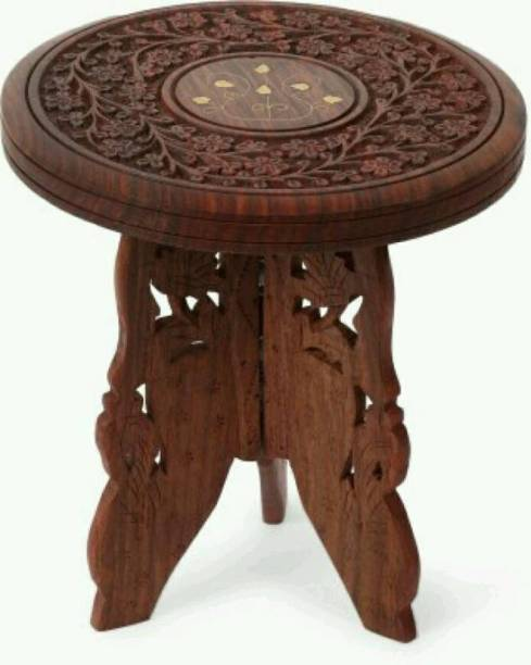 Eco Handicrafts Solid Wood Side Table
