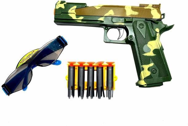 Welzivs FIRE Power Toy Gun for Kids with 5 Soft Bullets Guns & Darts