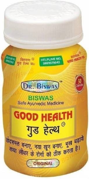 Dr. Biswas Good Health Capsule for Strong Immunity and Increasing Your Appetite