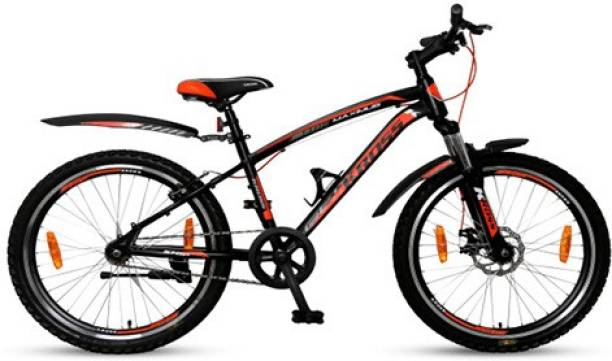 Kross Maximus Pro 26T Black Disc Brake &Bottle Holder Cycle, Girls Boys, Age 12+ Years 26 T Road Cycle
