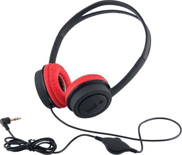 iBall Musi Wired Headphones Wired without Mic Headset