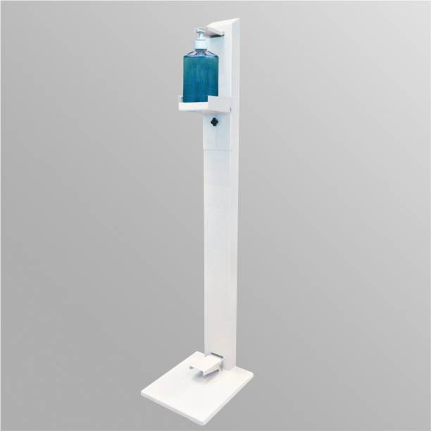 PERFECT Hand Sanitizer Dispenser Floor Stand Foot Operated Touchless Adjustable Portable Touch Free ( L-1298 mm,W-200mm, weight 7.4kg ) 1 L Sanitizer Stand Dispenser