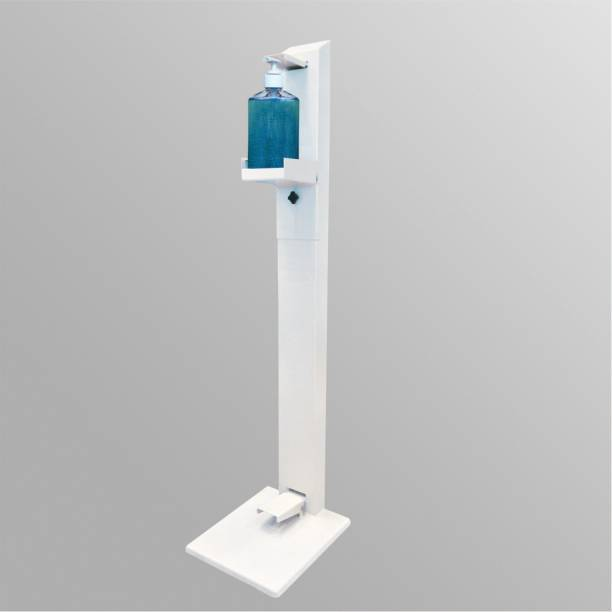 PERFECT Hand Sanitizer Dispenser Floor Stand Foot Operated Touchless Adjustable Portable Touch Free ( L-1100 mm,W-200mm, weight 6.5kg ) 1 L Sanitizer Stand Dispenser