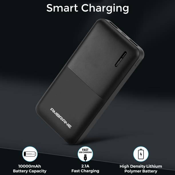 Ambrane 10000 mAh Power Bank (Fast Charging, 12 W)